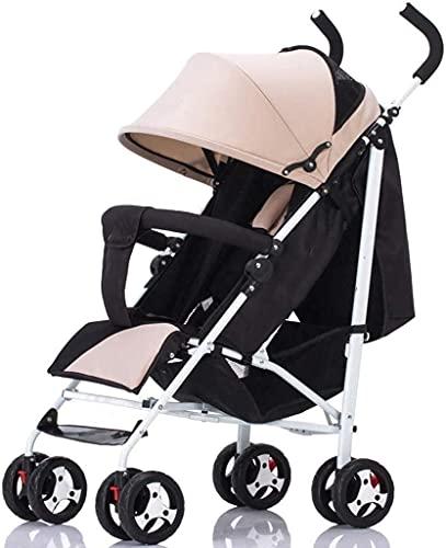Cochecito de bebé Cochecito de viaje para el recién nacido niño pequeño creativo creativo nuevo ultraligero baby stroller puede sentarse reclinable bebé paraguas carro plegable niño cochecito niño man