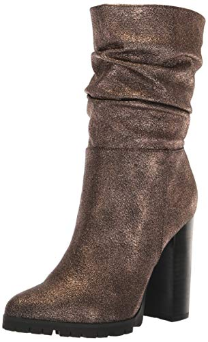 Katy Perry The Raina Botas de Media Pantorrilla para Mujer, Bronce, 5.5 M US