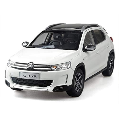 Gnueren 1:18 Modelo de automóvil/Compatible con Dongfeng Citroen C3-XR/Vehiculo Todoterreno SUV Modelo de Coche de aleación (Size : 24cm*10cm*9cm)