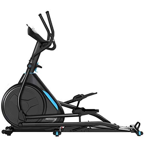 LIANGANAN Funda de Almohada Máquina elíptica controlada magnéticamente, Paso a Paso, Caminante Espacial, Bicicleta de Ejercicio Interior, Ejercicio silencioso (Pendiente Ajustable) zhuang94