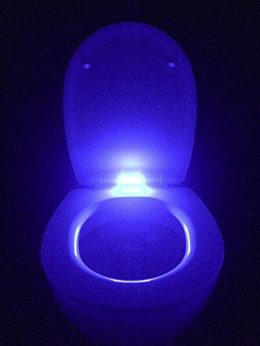 WC Sitz Klobrille LED bleuchtet mit Absenkautomatik und abnehmbar
