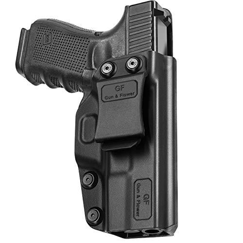 Glock 19 Holster, Polymer IWB Holster for Glock 19 | Glock 19X | Glock 23 | Glock 32 | Glock 45, Inside Waistband Concealed Carry Belt Clip for Pistol, Gun Holster for Men/Women |Adj. Cant & Retention