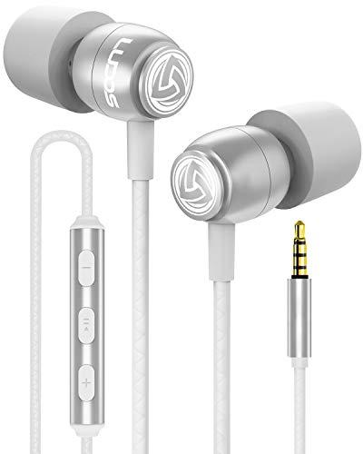 LUDOS CLAMOR Auricolari In-Ear Cuffie con Audio di alta Qualità, Memory Foam di Nuova Generazione,...