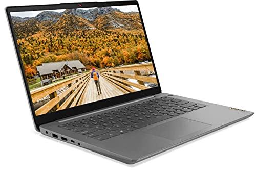 Lenovo (14 Zoll FullHD matt) Laptop (AMD Ryzen 5 5500U, 8GB RAM, 512GB M.2 SSD, AMD Radeon Graphics, WLAN, Bluetooth, HDMI, USB 3.0, Windows 10 Pro) Grau