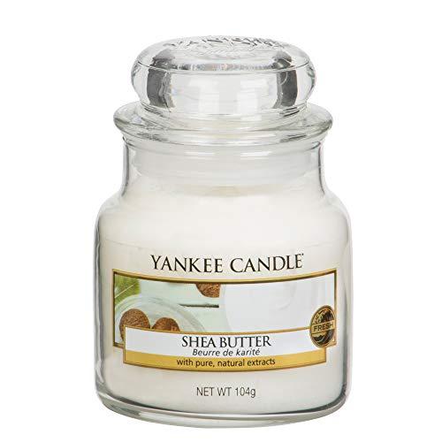 Yankee Candle Glaskerze, klein, Shea Butter