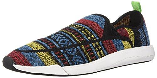 Sanuk Unisex Chiba Quest Knit Sneaker, Multi, 6 US Men / 7 US Women