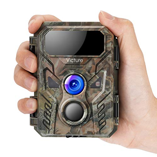 Victure Mini Trail Game Camera 16MP 1080P with Advanced Night Vision...