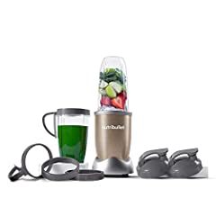 With 900 watts of power, the Pro is faster and stronger than the original, but just as simple to use. Load it up with dense whole foods like nuts, seeds, hard fruits, and kale, then push, twist and blend your way to a healthier lifestyle. Optimized 9...