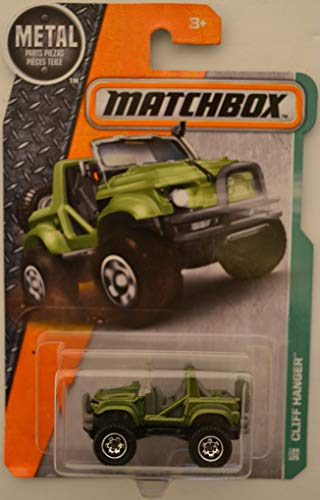 Matchbox Cliff Hanger Green 124 of 125 Metal Series 1:64 Scale Die Cast Car