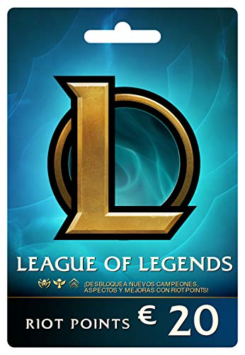 League of Legends €20 Tarjeta de regalo prepaga (2800 Riot Points)