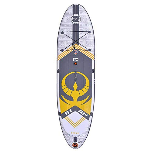 Zray - Sup Stand Up Paddle Gonflable Dual 10' - PB-ZD1 - Planche Gonflable Dropstitch avec Leash,...