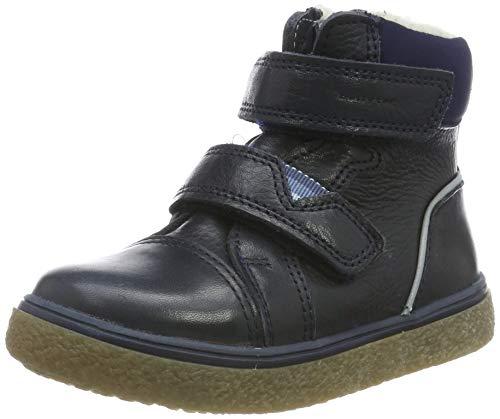 bellybutton Baby Jungen Kuluk Winterstiefel TEX Stiefel, Blau (Navy NAV), 24 EU