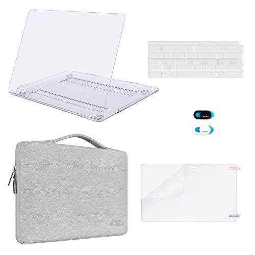 MOSISO Funda Dura Compatible con 2020-2018 MacBook Air 13