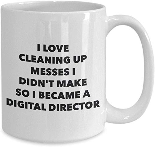 LETE You will always be my best gift I became a digital director mug coffee cup digital director gifts funny novelty