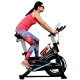 GT.team Exercise spin bike static Indoor Home gym workout cycling fitness 8kg flywheel Tablet and drinks holder NEW