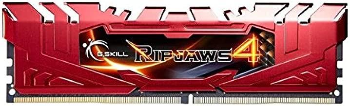 G.SKILL Ripjaws 4 series 8GB (2 x 4GB) 288-Pin DDR4 SDRAM DDR4 2133 (PC4-17000) Memory KitModel F4-2133C15D-8GRR