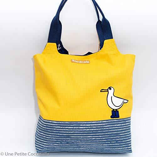DIY Nähpaket Charlie Bag Maritim Möve