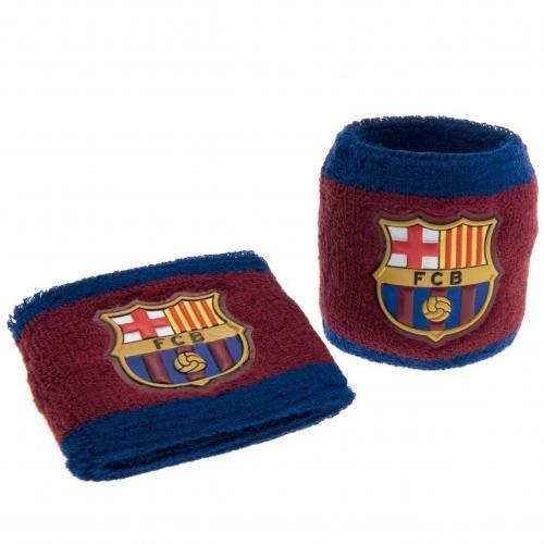 F.C. Barcelona BB-, sweatbands- Armbänder Armbänder-Set: elastisch und in Einer Einheitsgröße, die All 7 cm breit auf Einer Kopfzeile Card- Offizielles Fußball-Merchandising-Produkt