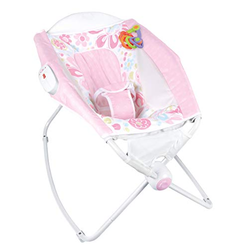 PORIN Foldable Infant-to-Toddler Rocker Sleeper, Soothing Baby Sleep with Soothing Vibrations Baby Swings, 0-36 Months Compact Fold for Storage Or Travel Bouncer Chair Portable Baby Seat