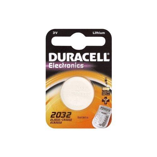 Duracell Litio batteria a bottone, CR2032 / DL2032 / 5004LC / E-CR2032 / SB-T51, 3V - 1 piece