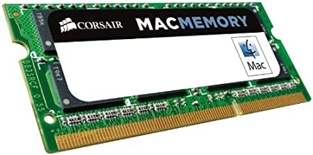 $40 » Corsair CMSA8GX3M1A1600C11 Apple Certified 8 GB DDR3 1600MHz (PC3 12800) Laptop Memory 1.35V