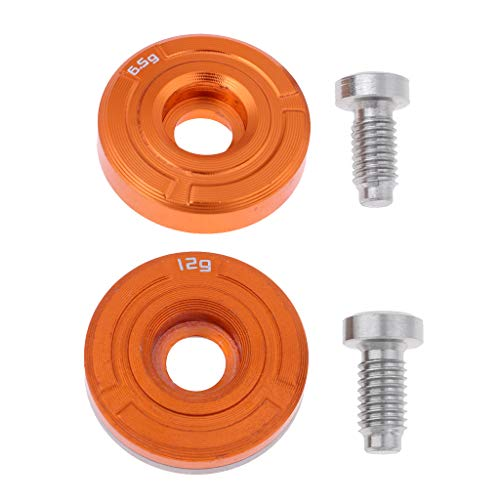 perfk 2 Pieces Golf Weights with Screw for Cobra King F7 F7+ Driver Head...