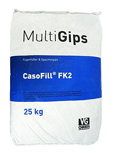 Preisvergleich Produktbild 25 kg CasoFill FK2 Fugenfüller - Spachtelgips