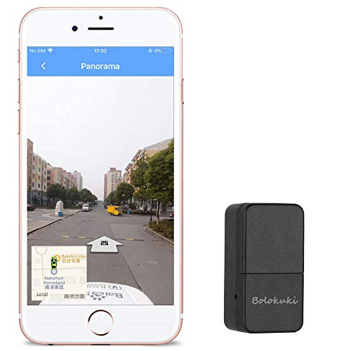 Bolokuki Mini GPS Tracker Kids Tracker Device Personal GPS Locator Backpack Tracker Magnetic Car...