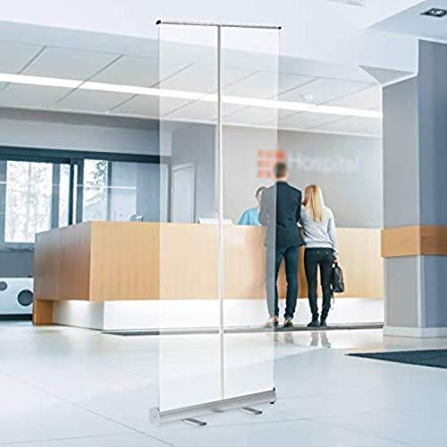 Transparente de la pantalla protectora, for suelo pantalla Aislamiento