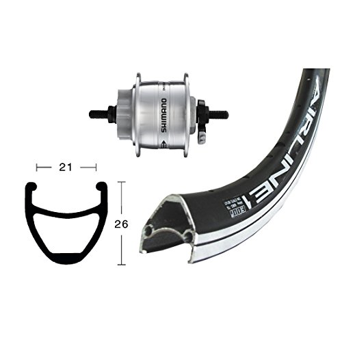 Bike-Parts 28´´ Vorderrad Rodi Airline 1 + Nabendynamo DH-3D32 Disc 6-Loch