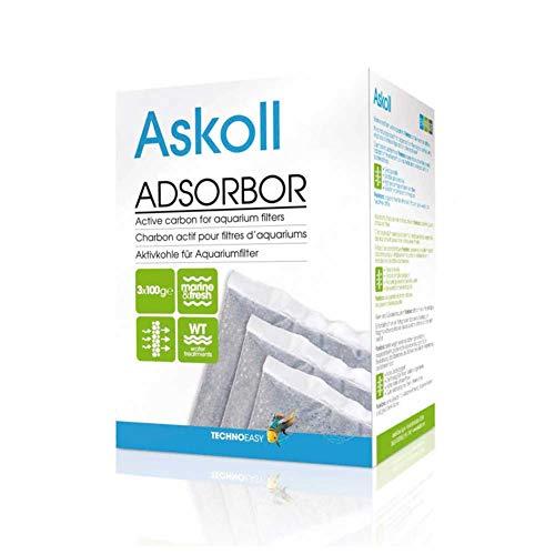 Askoll 922975 Adsorbor Carbone Attivo per Filtro Pratiko