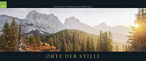 GEO SAISON Panorama: Orte der Stille 2021 - Panorama-Kalender - Wand-Kalender - Groß-Formate - 120x50