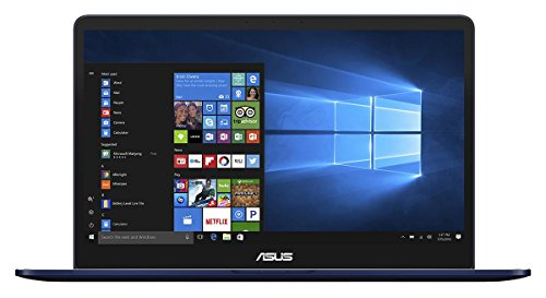 "Asus ZenBook Pro UX550VD-BN084R Notebook, Display da 15.6"", Processore i7-7700HQ, 2.8 GHz, SSD da 512 GB, 16 GB di RAM, nVidia GeForce MX 1050, Blu [Layout Italiano]"