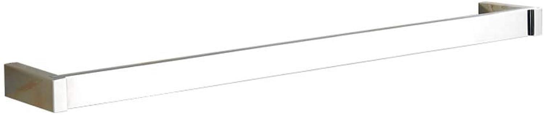 BAOFI Badebar - Soporte para Barra de bao (23,8 Pulgadas, Resistente a la corrosión), Color Plateado