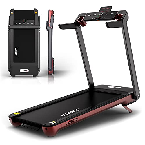 """Folding Treadmill with Auto Incline Electric Running Machine Treadmills for Home with LCD Monitor 22"""" Wide Tread Belt (Fold Treadmills for Small Spaces Fit Under Bed)"""