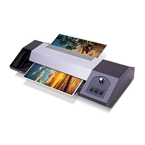 RMXMY A4 Laminator Thermal Laminating Machine for Home & Office Photos Documents Lamination, Laminator Set, for Home School Office Use