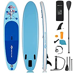 5. Goplus - Best Sturdy & Safe Inflatable Paddle Board Under $300