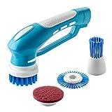 サンワダイレクト 電動ハンドブラシ 回転ブラシ 乾電池駆動 防水 お風呂掃除 200-CD053