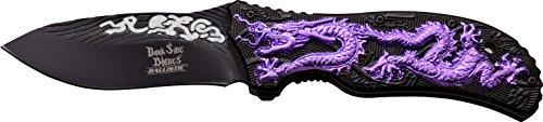 Dark Side Blades Navaja Purple Dragon