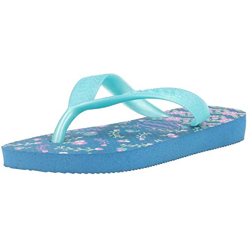 Havaianas Flores, Chanclas para Niñas, Azul (Blue 0057), 27/28 EU