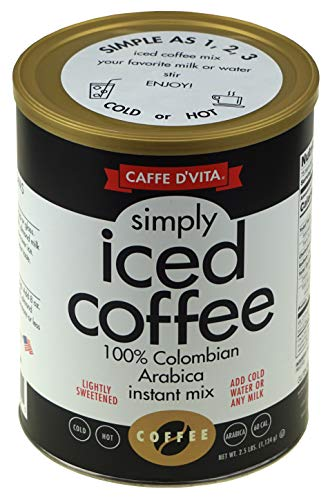 Caffe D'Vita Simply Iced Coffee 40 oz