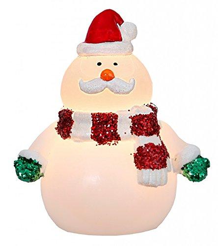 Vela de cera LED temporizador de Santa Claus, aprox 15 x 13 cm