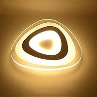 家の装飾シンプルな白色LEDランプシャンデリア天井壁ハードウェア+連続調光ランプ子供生活に適したアクリル-ダイニングルームキッチン24w1680lm 3000-6000K 42 * 42 * 42cm