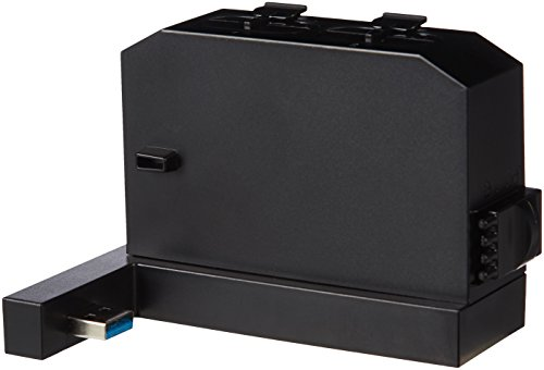 Amazon Basics Controller Battery Pack Charger For Xbox One S Console - Black (Not compatible with Xbox One S All-Digital Edition Console)