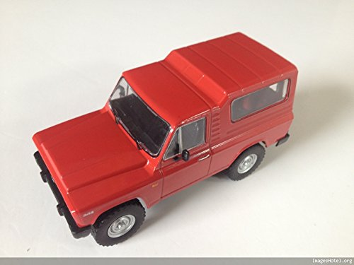 Générique ARO 243 (1985-1990) Diecast Car 1:43 Scale Red -réf P179