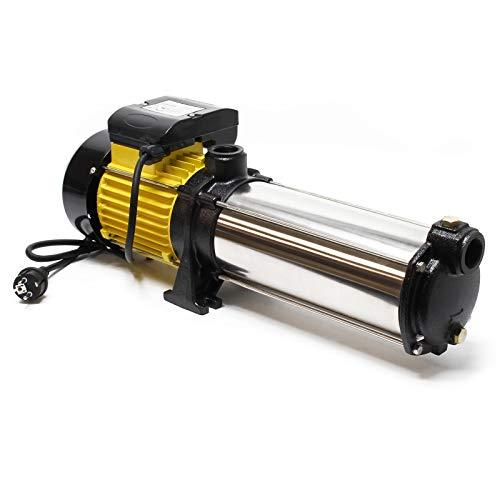 Mehrstufige Kreiselpumpe 9000l/h 2200W Förderhöhe 105m, 2850U/min, für Hauswasserwerke