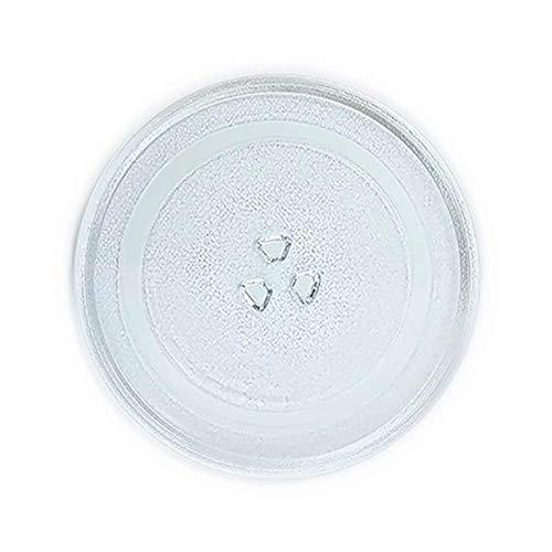 Recamania Mikrowellenteller Teller Drehteller Glasteller für Mikrowelle Durchmesser: 255 mm Balay Daewoo WG24214wg214a 3WG19X 3wh2126