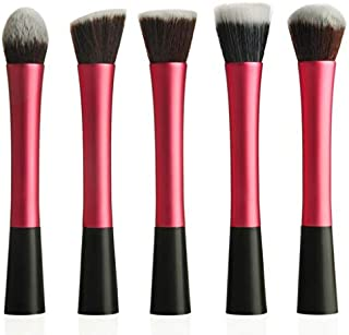 Synthetic Kabuki Makeup Brush, Set of 5 Piece [FAS-MB-13-R]