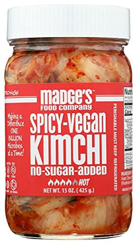 Madge's Food Company, Kimchi Spicy, 15 Ounce