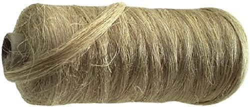 Dichtungshanf Spule ca. 80-90 Gramm Hanf auf Pappkern gewickelt